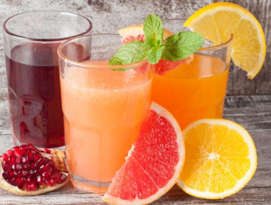 ดื่มน้ำผลไม้รสชาติเปรี้ยวเกิดประโยชน์ต่อร่างกาย